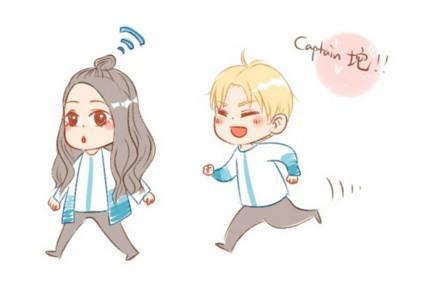 娱乐人物 谁有鹿晗迪丽热巴两个人一起的卡通图片?