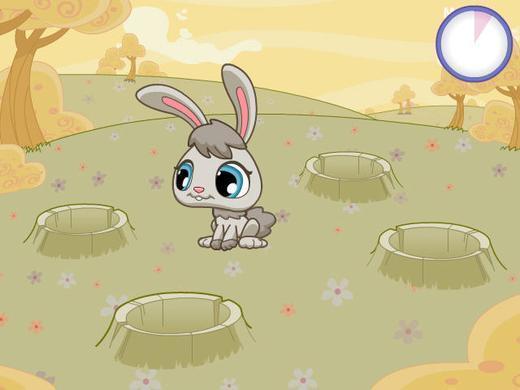 小兔子吃胡萝卜_360应用宝库