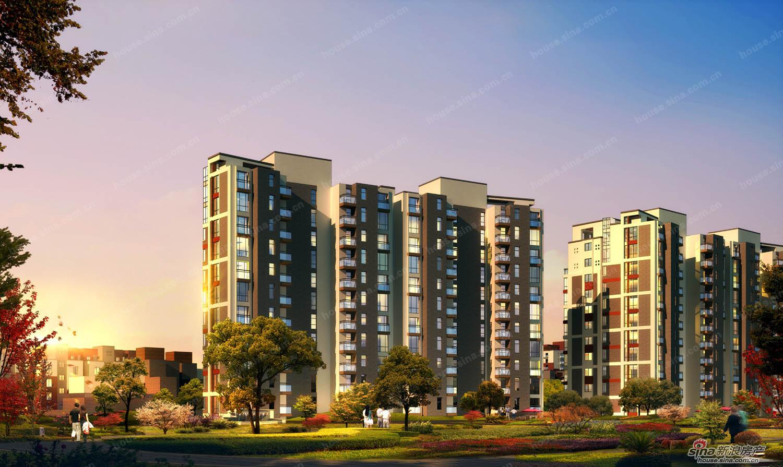 住宅楼效果图   永隆国际社区高层住宅效果图   高层住宅建筑