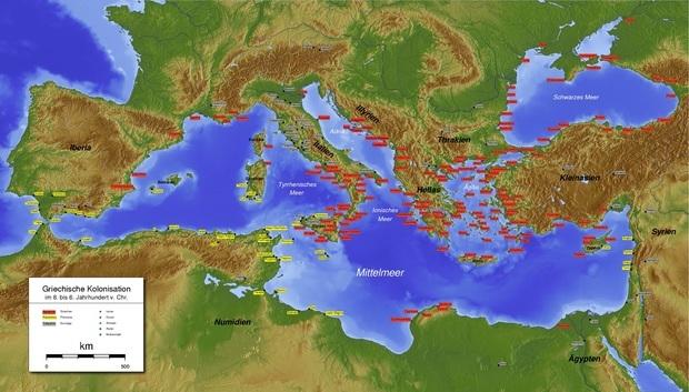 苏格拉底时代欧洲地图_360问答