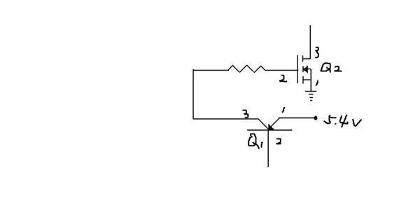 笔记本电路中三极管和mos管,实际电路中高低电平和导通截止求大神分析