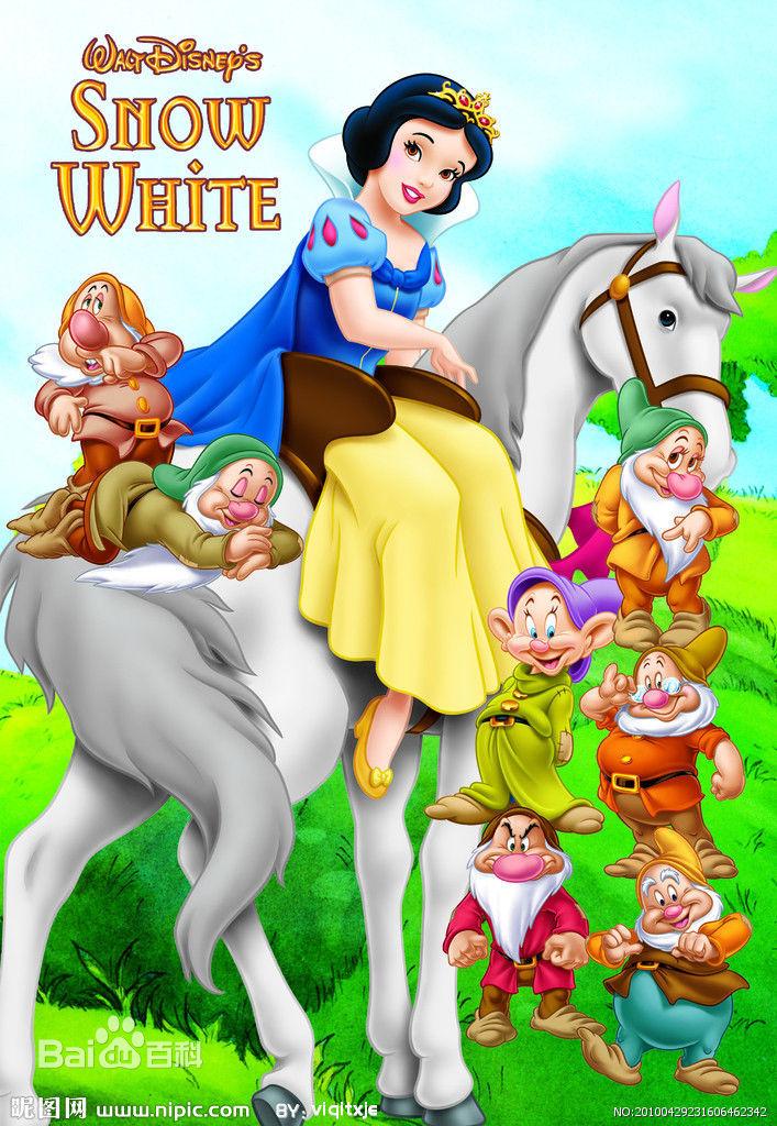 白雪公主和七个小矮人壁纸