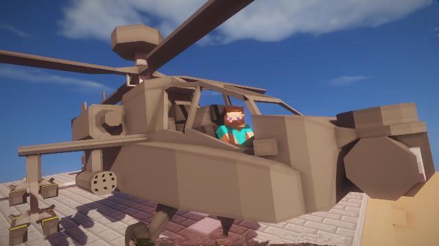 <b>我的世界大海解说</b>:战争之王超棒的坦克直升机模组