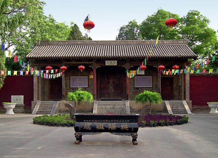 运城市芮城县永乐宫旅游区 山西运城旅游景点