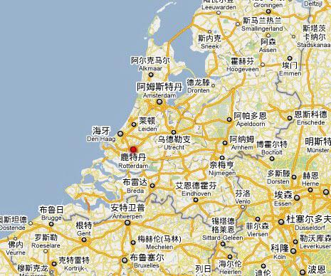 某城市全国所处地理位置结构图