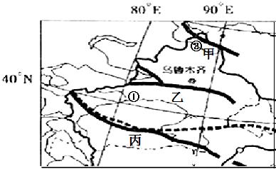 读新疆地图,回答下列问题