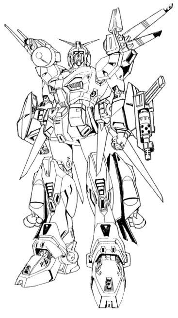 F90EF90高达侦察型