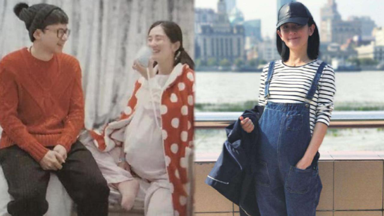 谢娜被曝去国外生二胎,张杰和女儿陪在身边,曾挺孕肚现身机场