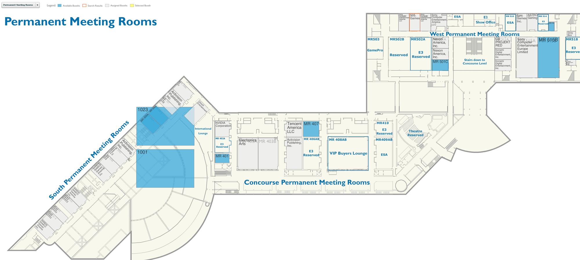 E3大展厂商展台曝光