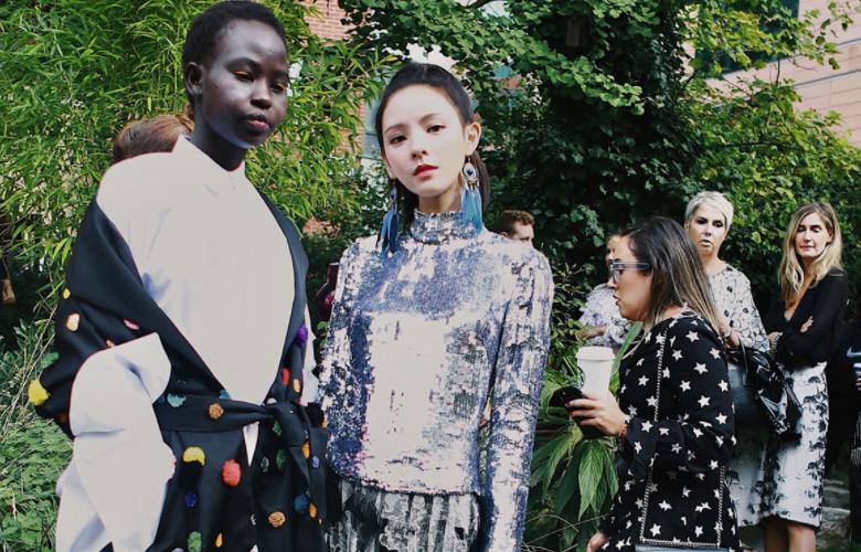 张予曦亮相伦敦时装周  时尚表现力受众品牌青睐