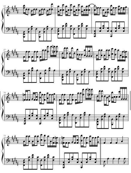faded的钢琴简谱_360问答