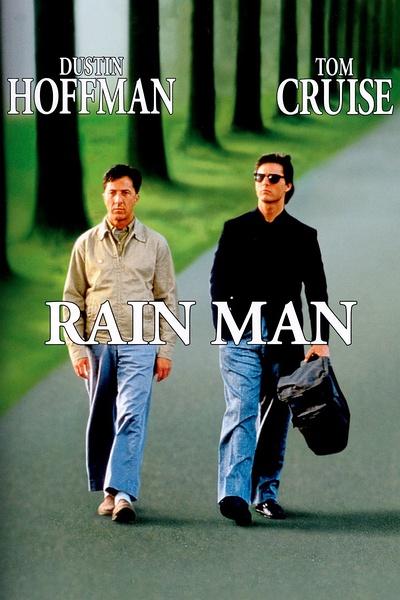 《雨人》电影海报