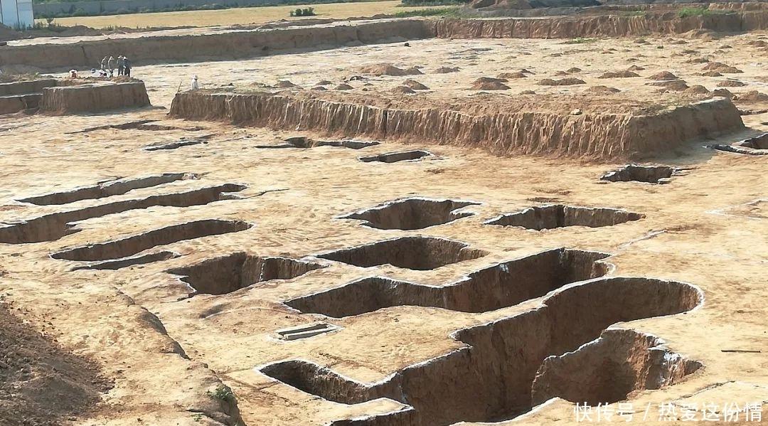 郏县北大街发现大型古墓群,出土文物近400件套,年代可追溯到战国!