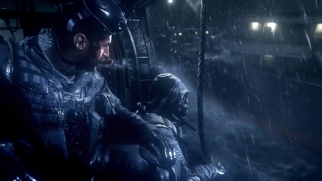 《使命召唤4》画面对比