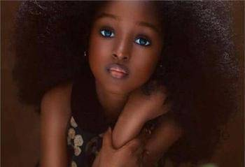"""她是真正的真人芭比,年仅五岁因美貌被称""""世界最美丽的女孩""""!_图2"""