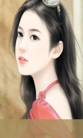 清纯美女系列之手绘美女高清动态壁纸