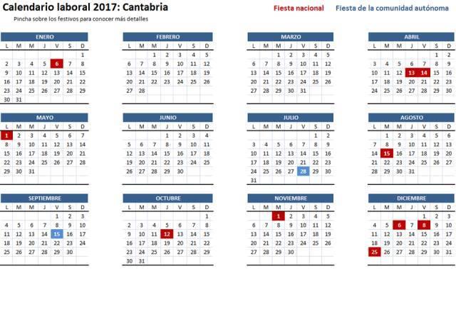 2017 1月可爱日历表