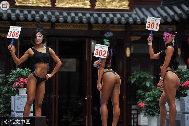 沈阳第一界女子美臀大赛 满眼尽是蜜桃臀 - 帥客 - 帥客的博客