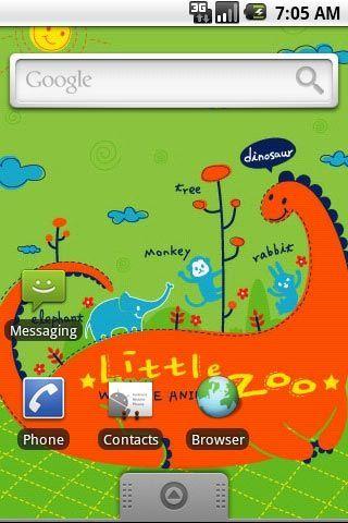 卡通小动物乐园壁纸(来自:)