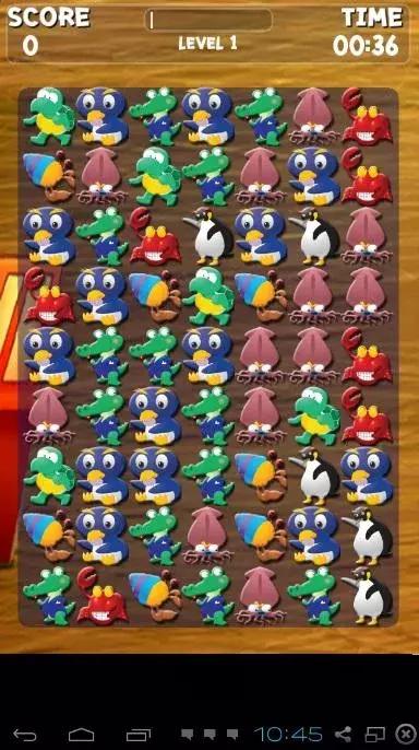 海洋动物匹配3游戏下载