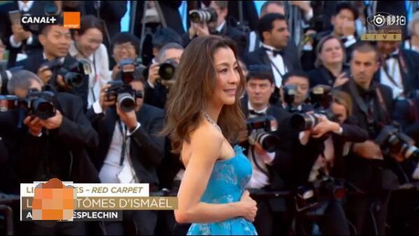 杨紫琼走戛纳红毯官方给一分钟镜头 外国记者的反应打脸毯星