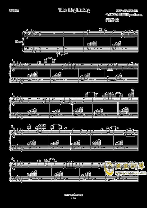 简单钢琴数字简谱展示