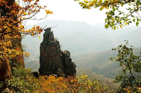 大黑山国家森林公园位于北票市西北部,与内蒙古自治区敖汉相连,居努