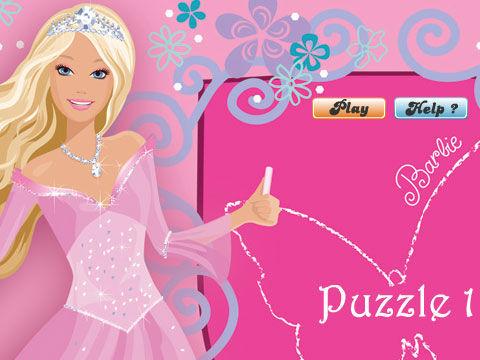 芭比公主拼图