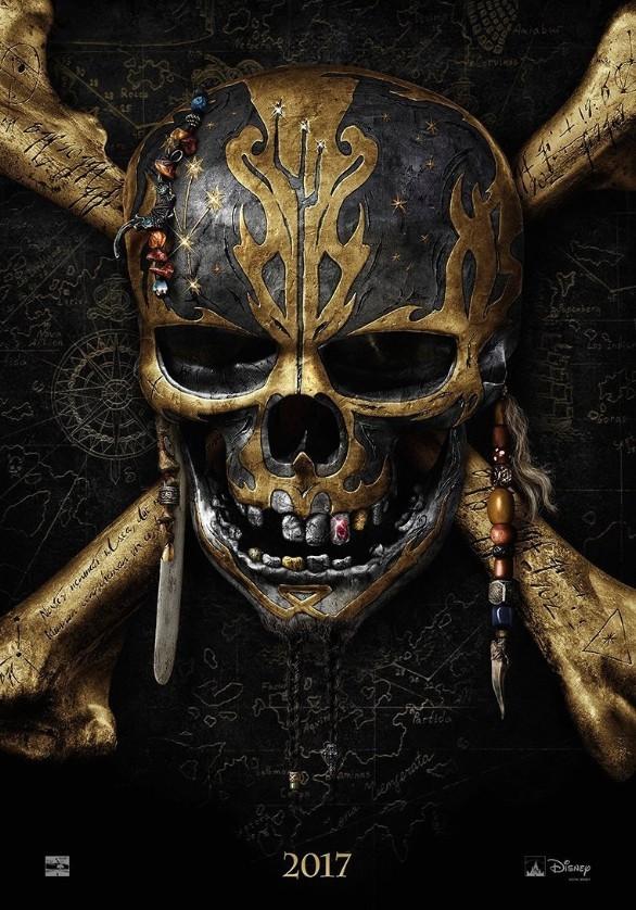 加勒比海盗5电影海报