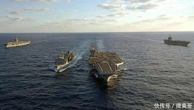 美国靠着航空母舰,是不是可以灭掉一个国家