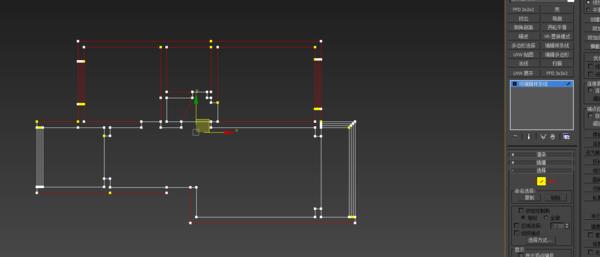3DMAX中把CAD下载的二维线点布置_36庭院导入cad减少图片