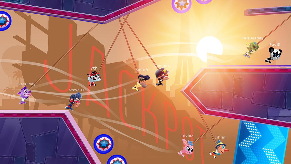 即时多人游戏《Rope Racers》即将登场