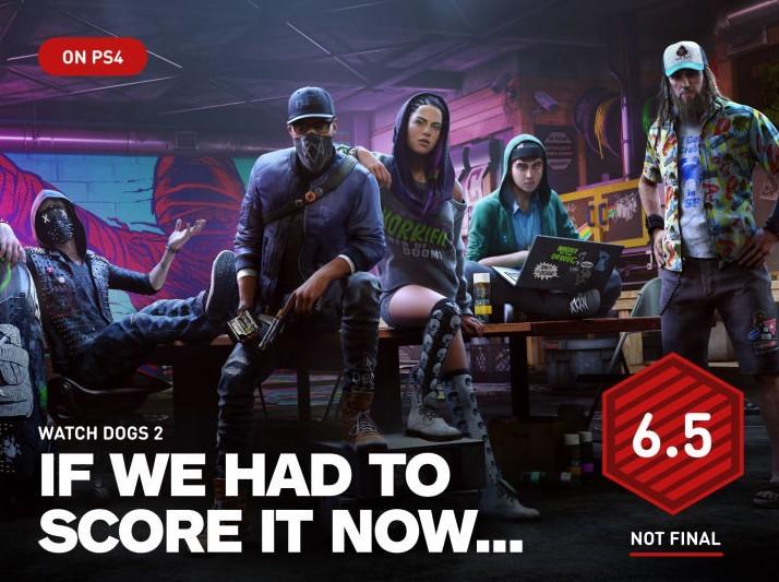 《看门狗2》IGN暂时评分