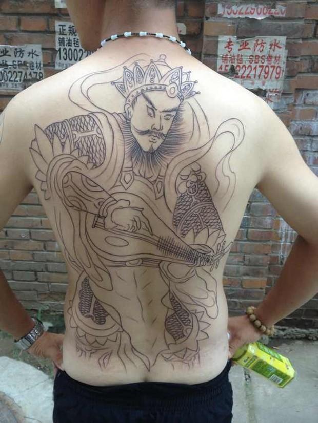 纹身持国天王有什么说法吗图片