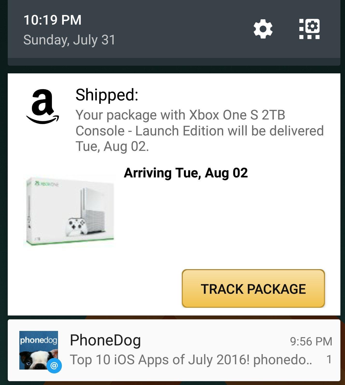 Xbox One S 2TB版开始出货