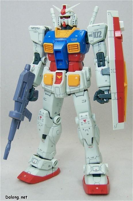 RX-78-2高达一年战争动画版颜色