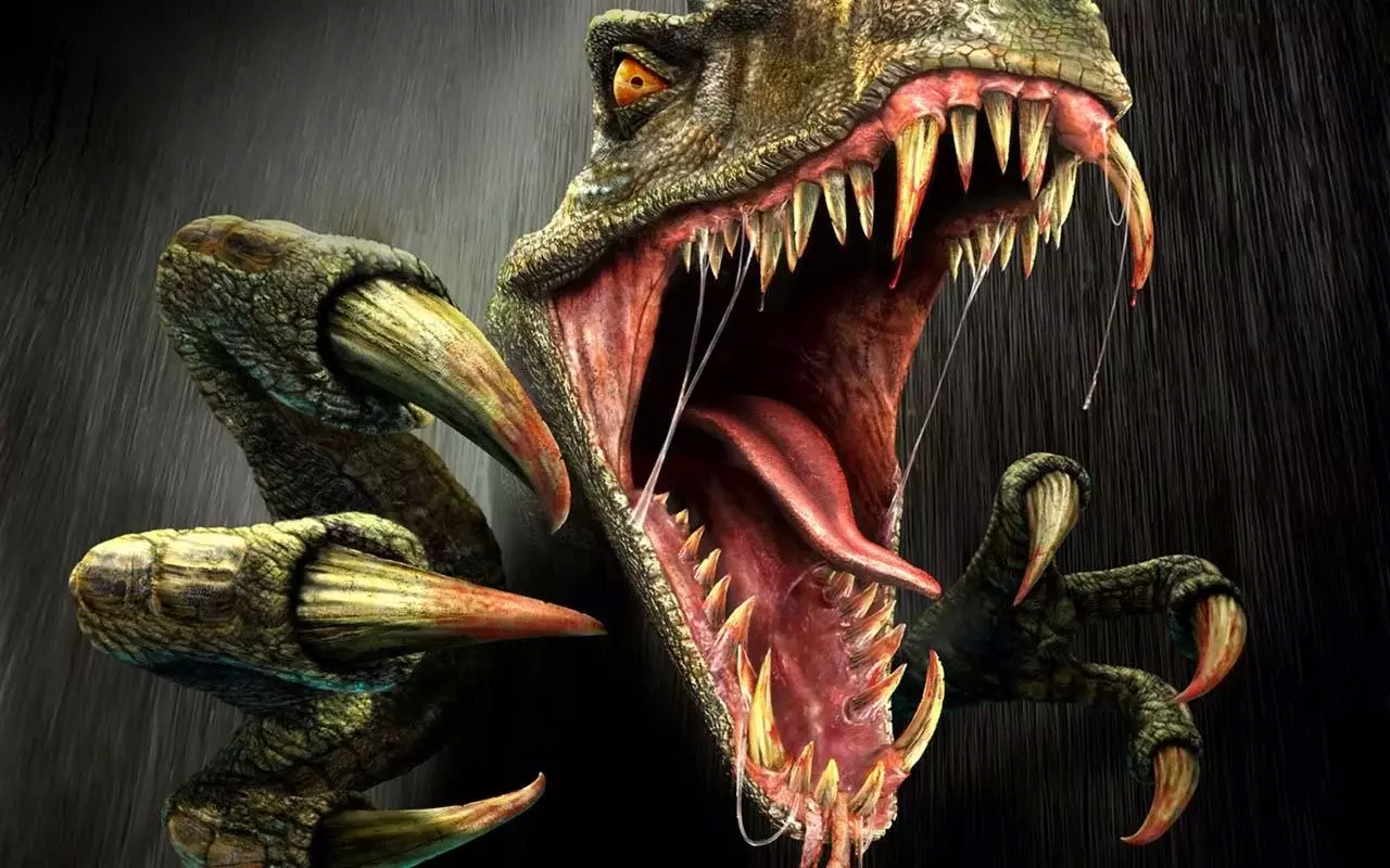 主题壁纸 恐龙世界
