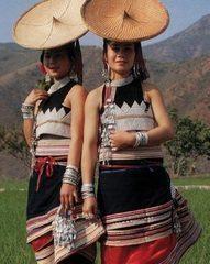 傣族妇女的穿着打扮