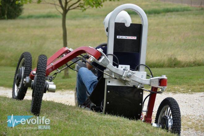 swincar电动车结构设计图展示