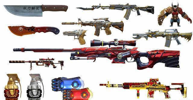 CF穿越火线:1月版本新武器高清壁纸合集第一弹