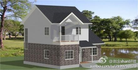 农村房屋外观效果图 房屋设计 2013农村平房室内设计