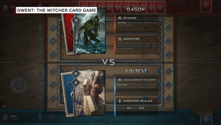 昆特牌:巫师卡牌游戏细节