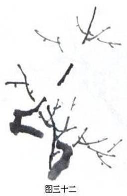 梅花的画法简笔画图片,国画梅花画法,百合花的画法