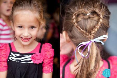 儿童扎头发教程 家有女儿的就给她这么扎