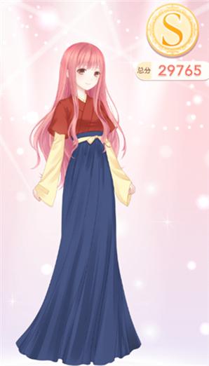 奇迹暖暖1-3少女级来自云端帝国的绫罗S级搭配