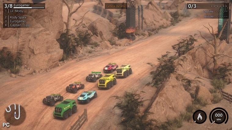 赛车游戏截图