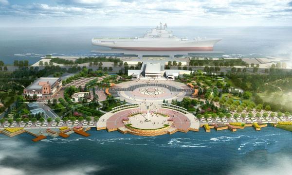 天津滨海航母主题公园