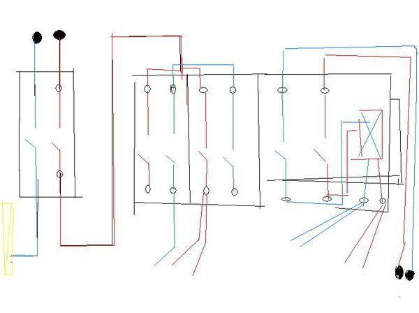 这个配电箱的电路图我画的对吗?
