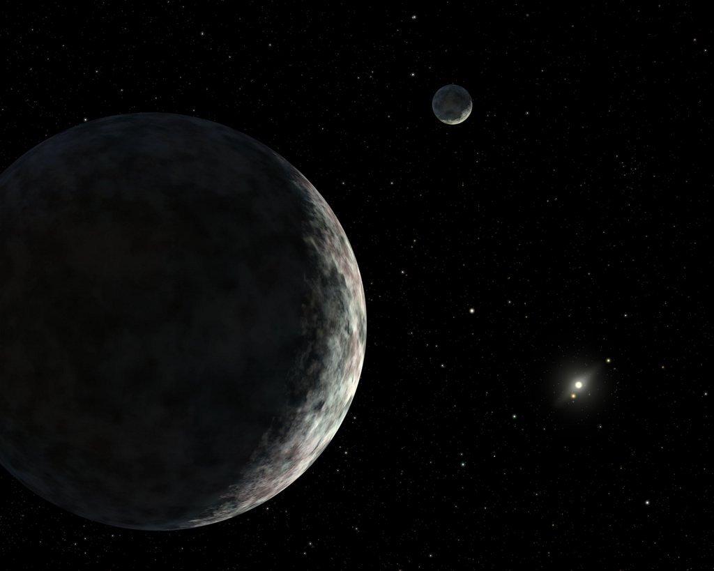 У Плутона есть планета-близнец (2 фото)