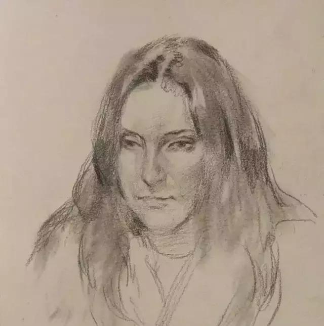 俄罗斯素描画家怎么处理素描关系 ART 第16张